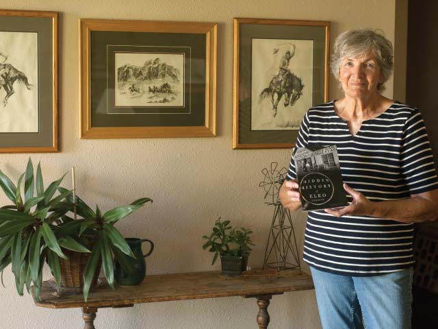 """Claudia Wines wrote """"Hidden History of Elko County"""" after discovering the lives of historic Nevadans while working at the Northeastern Nevada Museum."""