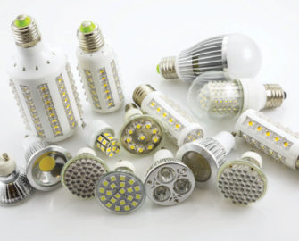 variety of LED bulbs