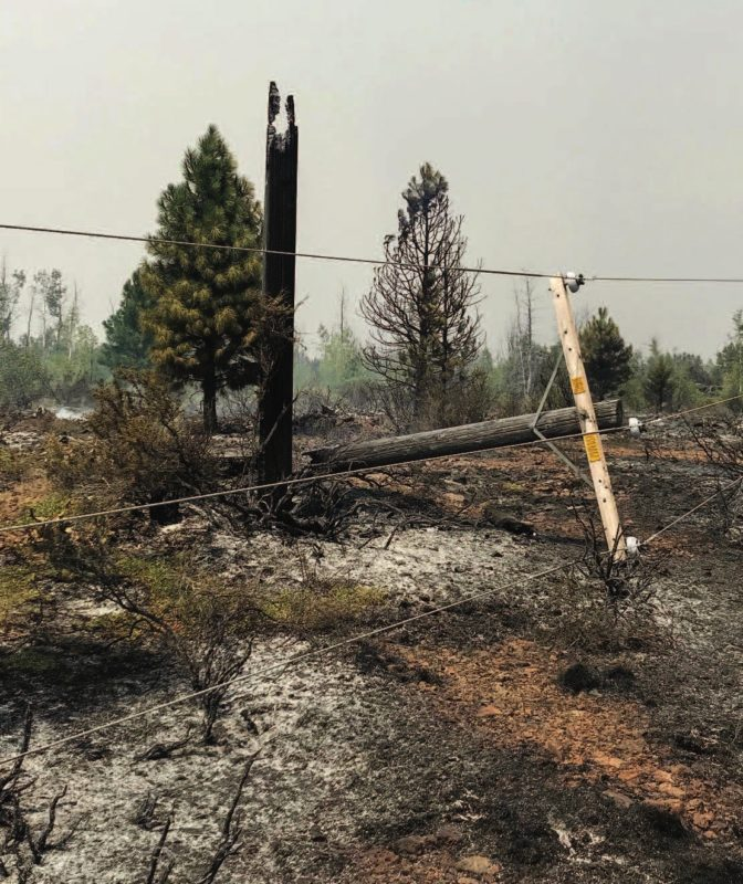 A 2018 wildfire destroyed the electric distribution system serving Eagle Lake in Northern California, leaving about 1,000 people without power