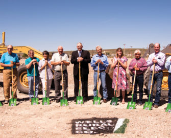 WREC Breaks Ground on New Building