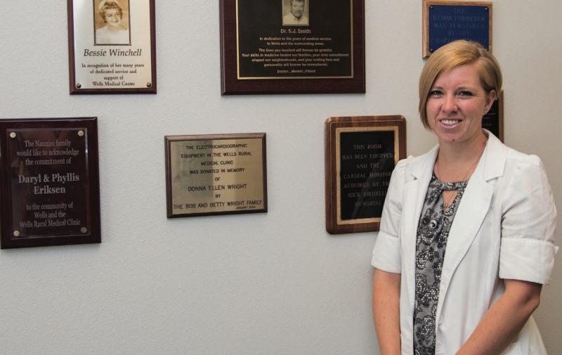 Nurse practitioner Veronica Stevens